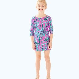 NWT - Mini Sophie dress in Extra lucky print